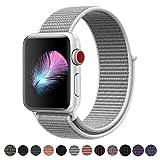 HILIMNY Für Apple Watch Armband 42MM, Ersatz für iwatch Armband Series 3, Series 2, Series 1 (Muschel, 42MM)